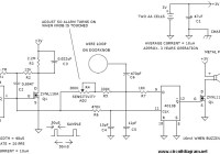 door knob alarm circuit electronic