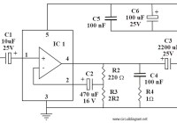 6-10W Power Amplifier Circuit Electronic