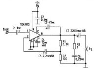 10W Audio Amplifier TDA1910