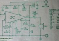 7W Audio Amplifier Circuit Electronic TBA810