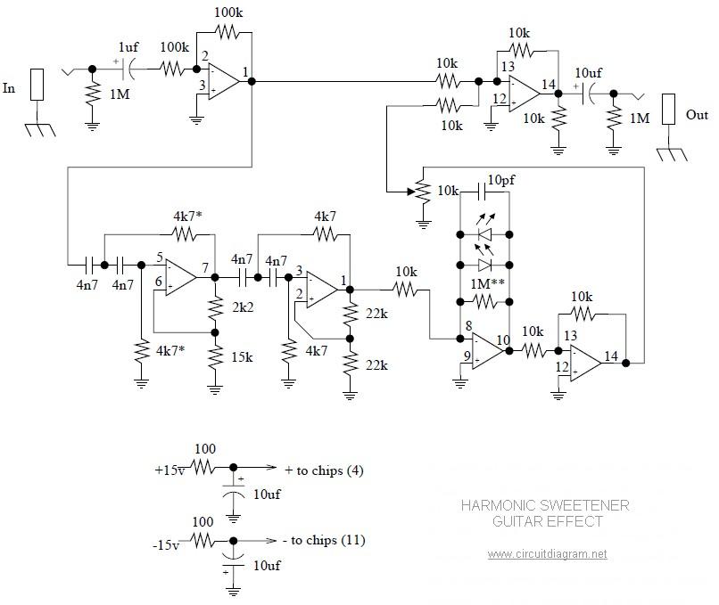 Harmonic Sweetener Circuit Electronic