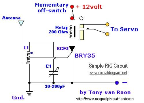simple r/c circuit