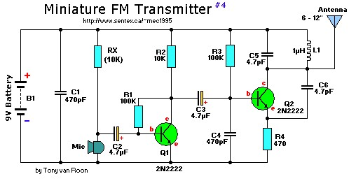 9V-mini-fm-transmitter Transistor Inverter Circuit Schematic on transistor gate, transistor circuit design, transistor latch circuit schematic, transistor circuit diagram, 12v to usb schematic, transistor voltage amplifier circuit, usb charge port schematic,