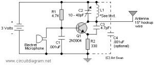 fm voice transmitter
