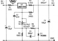 low cost switching voltage regulator