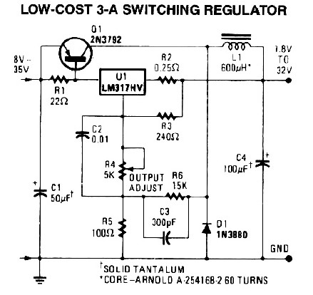 3A Switching Power Supply