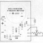 Metal Detector Circuit PCB Overlay