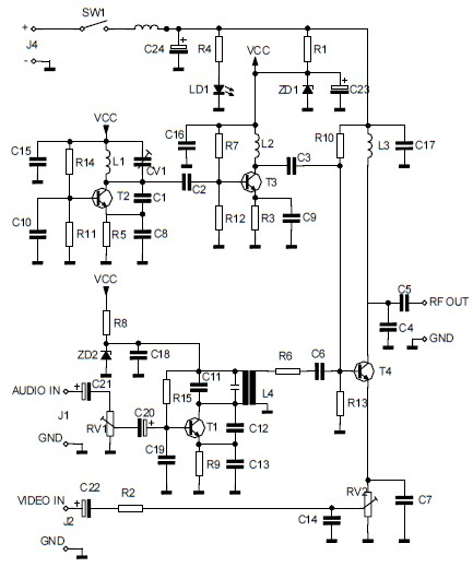 Digital Camera Circuit Diagram Digital Camera Schematic