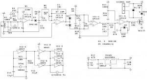 ultrasonic motion detector circuit
