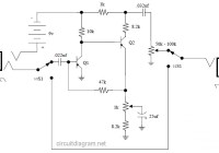 Vox Tone Bender Pedal circuit diagram