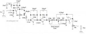 Tube Sound Fuzz mods circuit