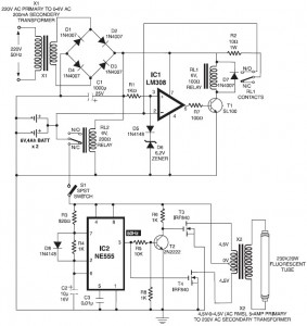 led tube light circuit diagram semak gqautomatic switching on emergency light schematic design for led tube light circuit diagram