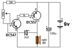 Ticking Bomb circuit diagram