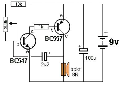 Ticking Bomb circuit electronic