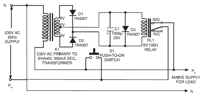 Electronic devices protector diagram