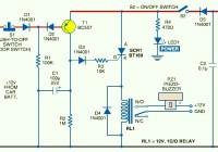 Car Anti Theft Guard Circuit Electronic