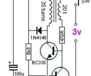 3V to 9V DC Converter