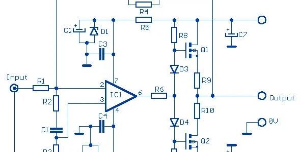 12W Audio Amplifier based FET Scheme