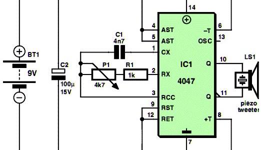 Simple Low Cost Mosquito Repellent Circuit Design