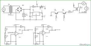 Electronic Circuit Breaker Schematic Diagram