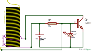 How to Make a Mini Tesla Coil 9v  Wireless Power Transmission