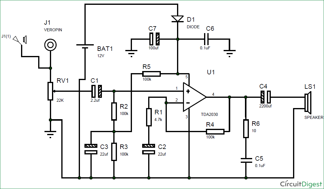 12v Wiring Diagram For Subwoofers Wiring Diagrams Schematics