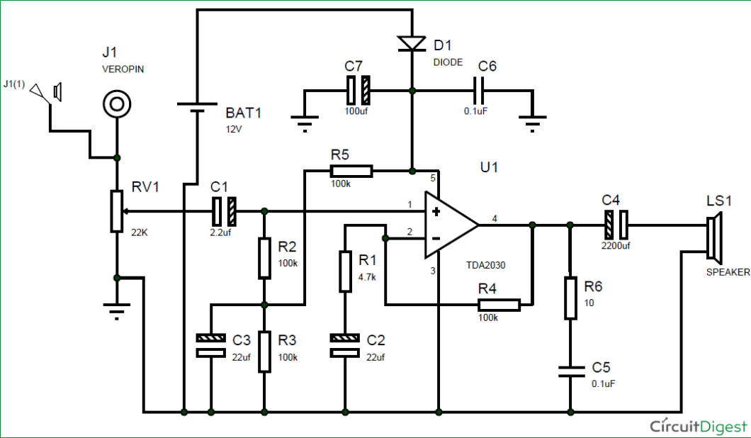 Home Theater Subwoofer Amplifier Circuit Diagram Www