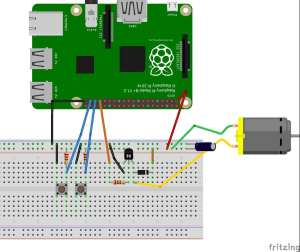 DC Motor Speed Control with Raspberry Pi
