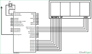 7 Segment Display Interfacing with PIC Microcontroller