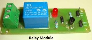 Automatic Room Lights using PIR Sensor and Relay: Circuit Diagram