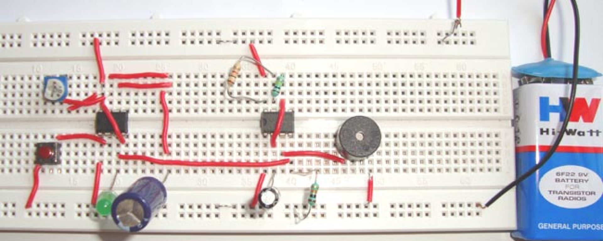 Door Bell Using Ic 555 Technology Hacking Negative Voltage Generator Circuit Diagram