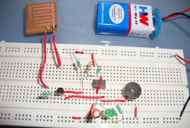 Wireless Alarm System Circuit Diagram