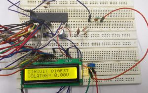 Digital Voltmeter using AVR Microcontroller (ATmega32): Circuit Diagram and C Code