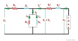 Equivalent Circuit of a Transformer? Referred to Primary