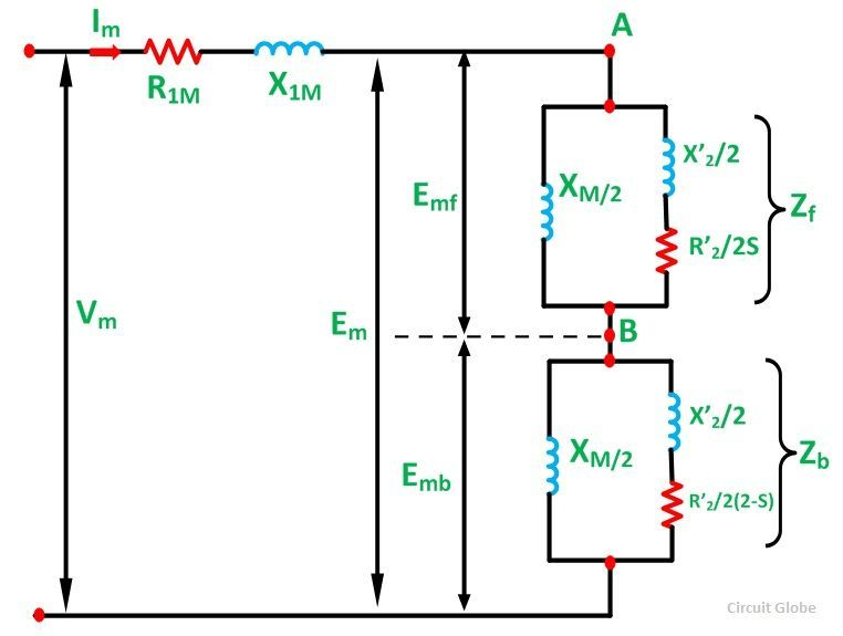 EQUIVALENT CIRCUIT OF A SINGLE PHASE INDUCTION MOTOR FIG 3?resize\=665%2C502 diagrams 600413 single phase induction motor wiring diagram 6 lead single phase motor wiring diagram at mifinder.co