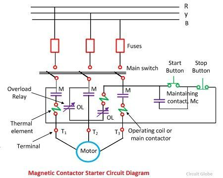3-phase-induction-motor-protection-compressor  Sd Single Phase Induction Motor Wiring Diagram on