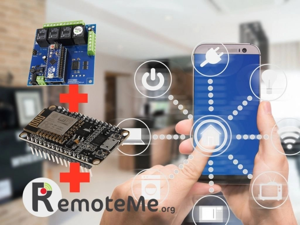 Simple Home Automation Using RemoteMe and Arduino