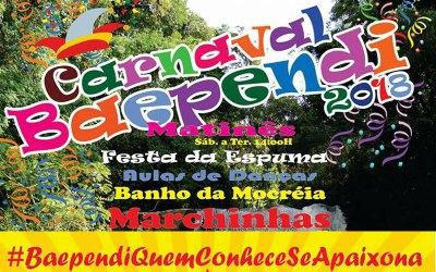Baependi – MG – Carnaval 2018