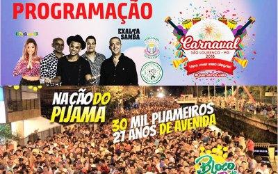 São Lourenço – MG agita no Carnaval 2018