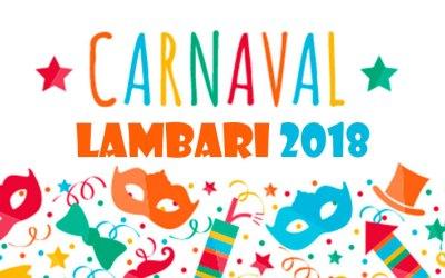 Carnaval 2018 em Lambari – MG.