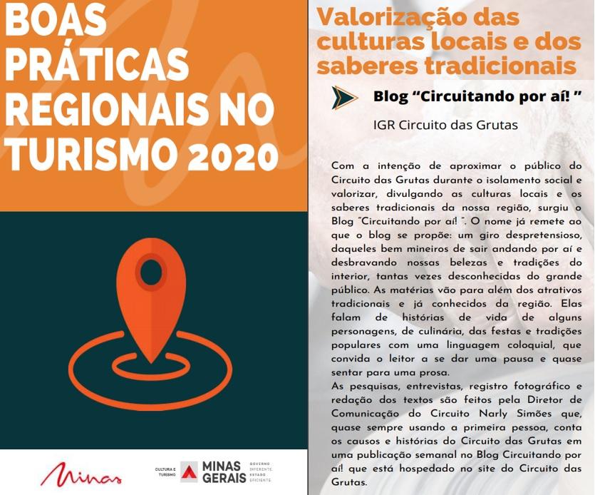 Blog Circuitando por aí! no portfólio de Boas Práticas da Secult 2020