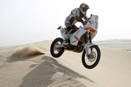 Mohammed Balooshi - The first Emirati rider to compete in the Dakar Rally