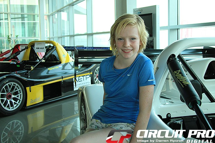Karting: 12yr old karting star Logan Hannah beats the Dubai heat in the Race Simulator