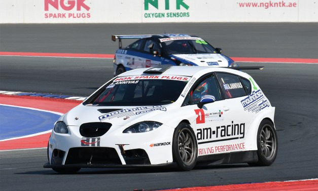 Dubai: Double victory in NGK UAE Touring Car series for Annivas