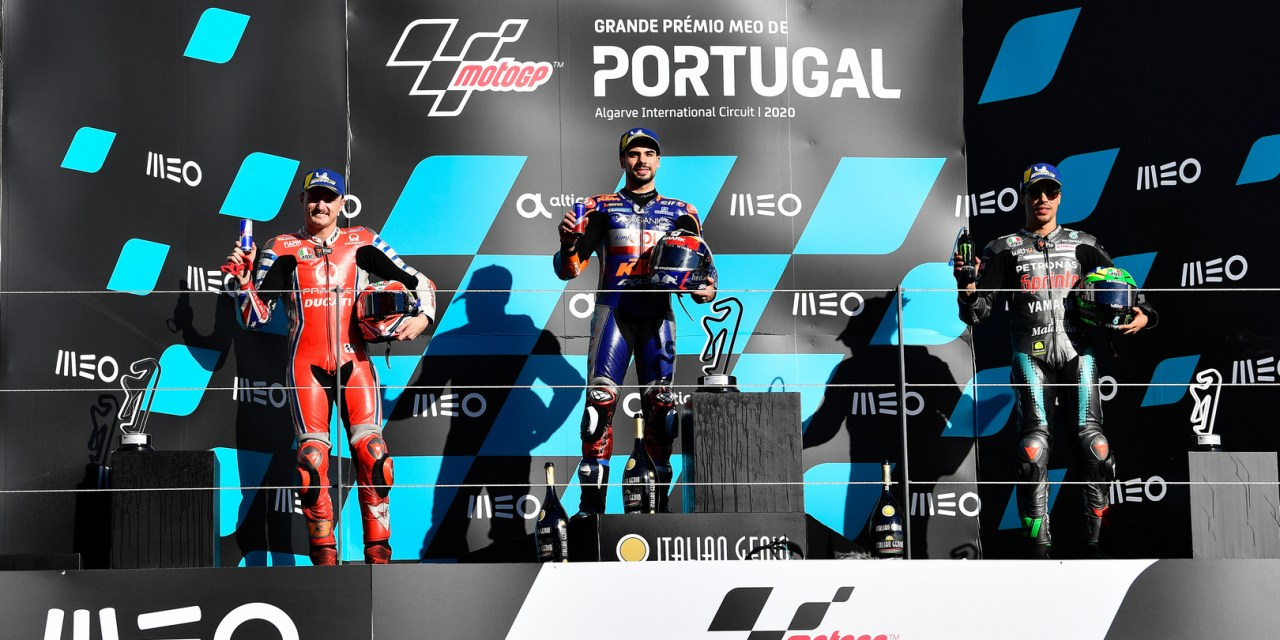 MotoGP: Oliveira obliterates the opposition to reign on home turf at Portimao