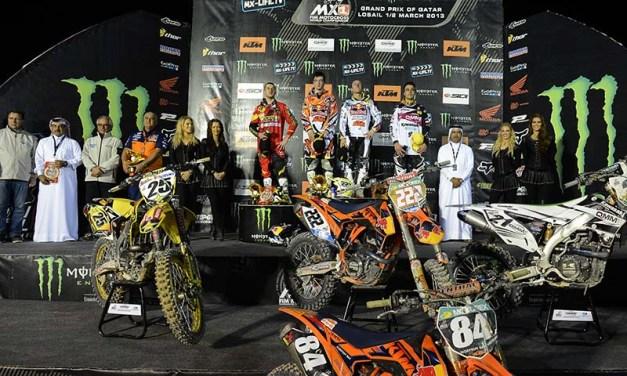 Qatar: Cairoli, Desalle and Herlings take Qatar MXGP top honours