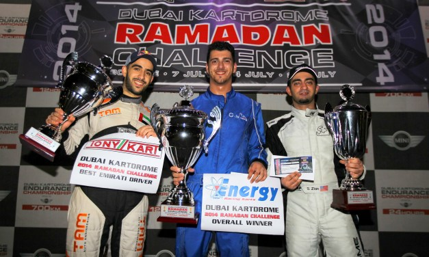 Karting: Rami Azzam is the 2014 Ramadan Challenge Champion at Dubai Autodrome