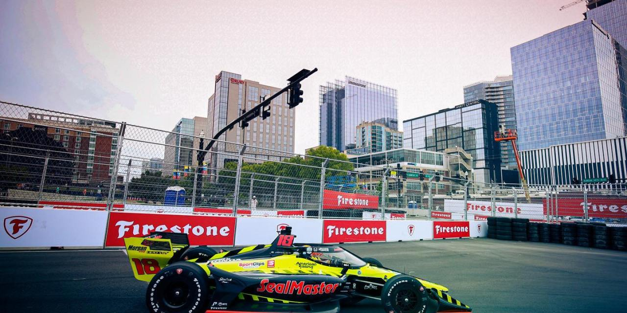 Indycar: Ed Jones blasts from 26th to 6th in his best result of the season at Grand Prix of Nashville