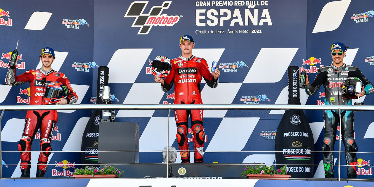 Miller silences the doubters with a masterclass first win for Ducati at Jerez