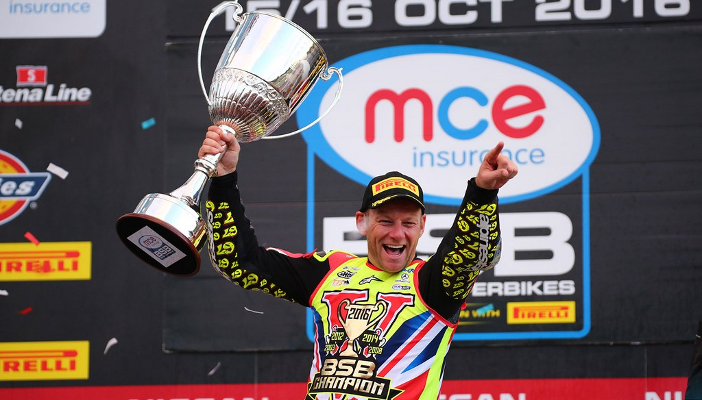 BSB: Shane Byrne scoops fifth British Superbike Championship title on home turf at Brands Hatch